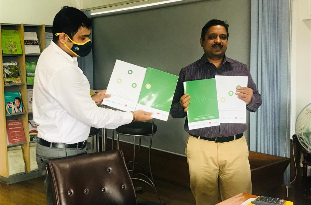 Knowledge products on public financial management developed by ACCESS Health International released by the National Health Mission, Assam